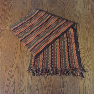 Missoni zigzag pattern scarf, trendy colours